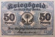 50 Pfennig (Bad Berka) – avers