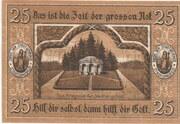 25 Pfennig (Stadtlengsfeld) – revers