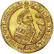 2 ducat Johann Philipp & Friedrich Wilhelm II – avers