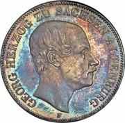 2 Thaler / 3½ Gulden - Georg – avers