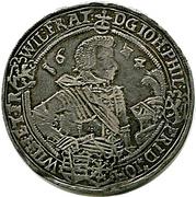 1 Thaler - Johann Philipp I, Friedrich VIII, Johann Wilhelm IV, & Friedrich Wilhelm II – avers