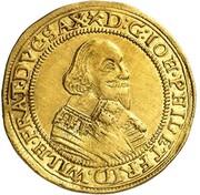 1 ducat Johann Philipp et Friedrich Wilhelm II – avers