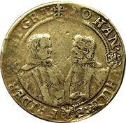 ½ thaler Johann Philipp I, Friedrich VIII, Johann Wilhelm IV and Friedrich Wilhelm II – avers
