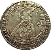 ½ thaler Johann Philipp I, Johann Wilhelm IV et Friedrich Wilhelm II – avers