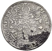 1 thaler Johann Casimir & Johann Ernst II – revers