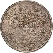 1 Thaler - Johann Casimir and Johann Ernst – revers