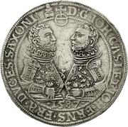 2 Reichsthaler - Johann Casimir and Johann Ernst – avers