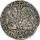 ¼ Thaler - Johann Casimir and Johann Ernst – avers