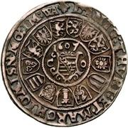¼ Thaler - Johann Casimir and Johann Ernst – revers