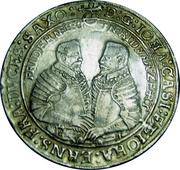 1 Thaler Johann Ernst II von Eisenach (1601-1612) – avers