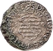 3 kreuzer - Johann Casimir and Johann Ernst (Kipper) – avers