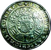 1 Thaler Johann Ernst II von Eisenach (1601-1612) – revers