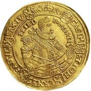 5 Ducat - Johann Casimir and Johann Ernst II – avers