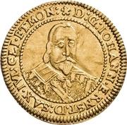 1 Ducat - Johann Ernst (Spruchdukat) – avers