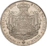 2 Thaler / 3½ Gulden - Ernst II – revers