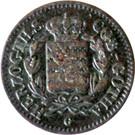 1 Pfennig - Ernst I – avers