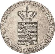 20 kreuzer Ernst I – avers