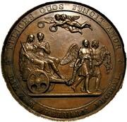 Medal - Queen Victoria & Prince Albert, Marriage (by Helfricht) – revers