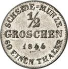 ½ Groschen - Ernst I – revers