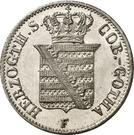½ Groschen - Ernst II – avers