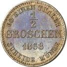 ½ Groschen - Ernst II – revers