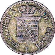 1 Groschen - Ernst II – avers