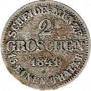 2 Groschen - Ernst I – revers