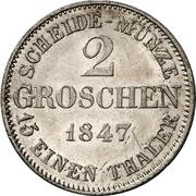 2 Groschen - Ernst II – revers