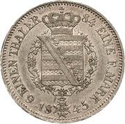 ⅙ Thaler - Ernst II – revers