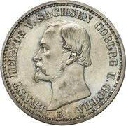 ⅙ Thaler - Ernst II – avers