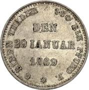 ⅙ Thaler - Ernst II (Jubilé d'Or) – revers