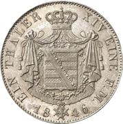 1 Thaler - Ernst II – revers