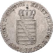 20 Kreuzer - Ernst I – avers