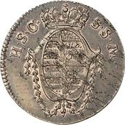 1 pfennig Franz Friedrich Anton – avers