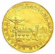 1 ducat Franz Josias (Mort de Christian Ernst) – avers