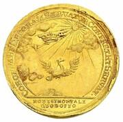 1 ducat Franz Josias (Mort de Christian Ernst) – revers