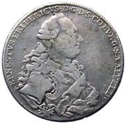 1 thaler Ernst Friedrich – avers