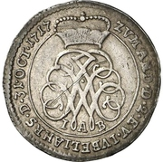 1 groschen Johann Wilhelm (Bicentennaire de la Réformation) – avers
