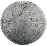 1/12 thaler Johann Georg II – revers