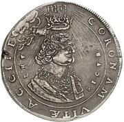 1 thaler Albrecht II (mort de Albrecht II) – avers