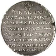 1 thaler Albrecht II (mort de Albrecht II) – revers