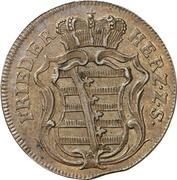 1½ Pfennig - Friedrich III – avers