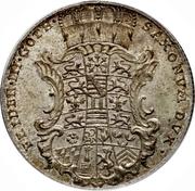 1/24 Thaler - Friedrich III (Paix d'Augsbourg) – avers
