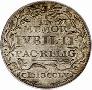 1/24 Thaler - Friedrich III (Paix d'Augsbourg) – revers