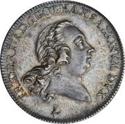 ⅔ Thaler, 1 Gulden - Friedrich III – avers
