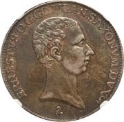 ½ Taler - Ernst Ludwig II – avers