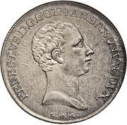 ⅔ Thaler - Ernst II Ludwig – avers