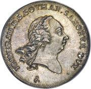 1 Thaler - Friedrich III – avers