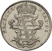 6 pfennig Friedrich III – avers
