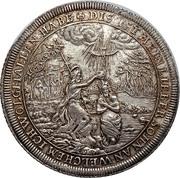 1 thaler  Frederick II  thaler de baptème – avers